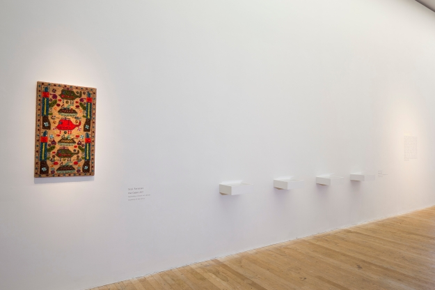 FREE IMAGE-NO REPRO FEE. Stitch in Time The Fabric of Contemporary Life exhibition, Glucksman Gallery, Cork. Photo by Tomas Tyner, UCC.